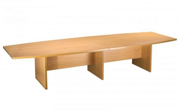 Beech 4000mm Boardroom Table